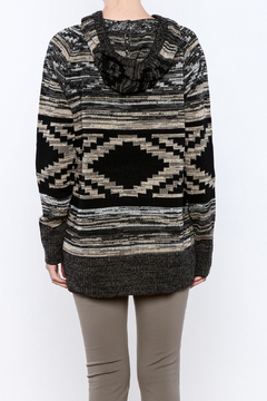 Shoptiques Product: Printed Knit Hoodie