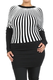 Velzera Striped Sweater Dress - Product Mini Image