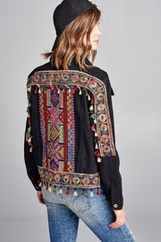 Velzera Tassel Embroidered Jacket - Product Mini Image