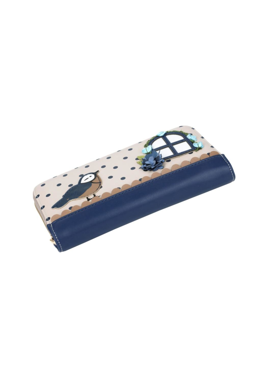 Vendula London Birdhouse Zip-Around Wallet - Side Cropped Image