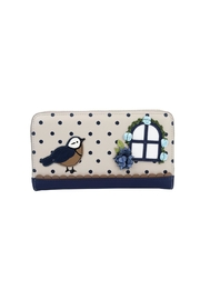 Vendula London Birdhouse Zip-Around Wallet - Front cropped