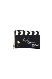 Vendula London Cinema-Clacket Zipper Coin-Purse - Product Mini Image