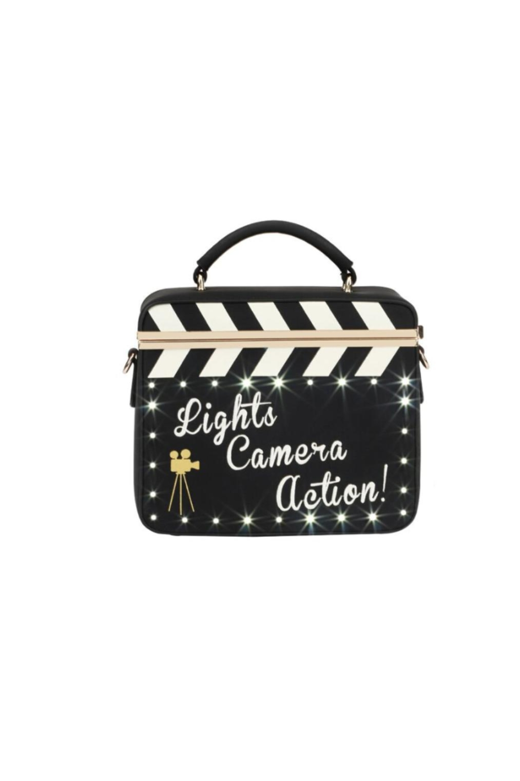 Vendula London Cinema Light-Up Bag - Back Cropped Image