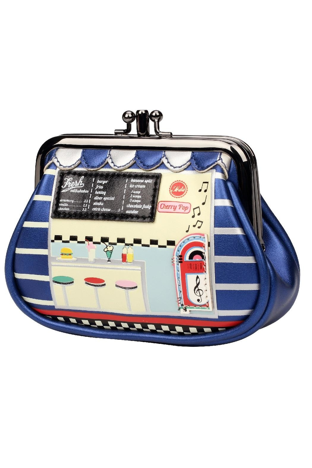 Vendula London Diner Clipper Purse - Front Cropped Image