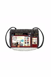 Vendula London Music Shop Bag - Product Mini Image