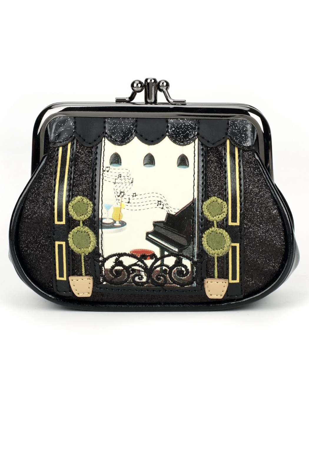 Vendula London Piano Bar Coin Purse - Main Image
