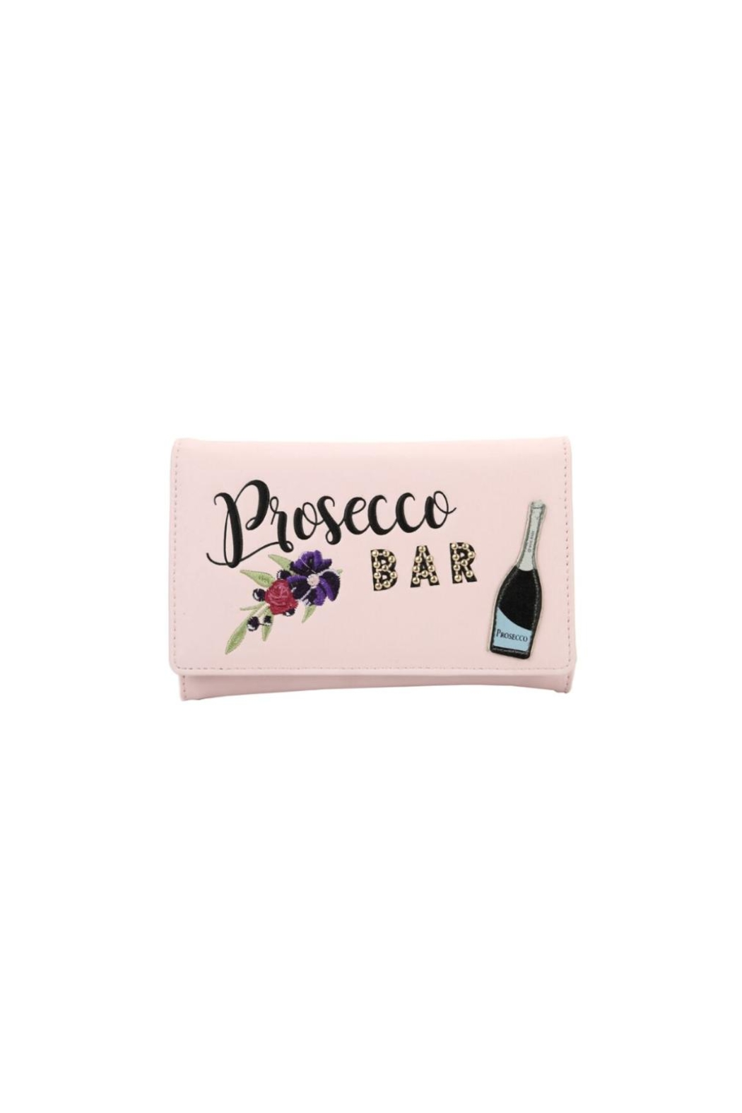 Vendula London Prosecco Tri-Fold Wallet - Front Cropped Image