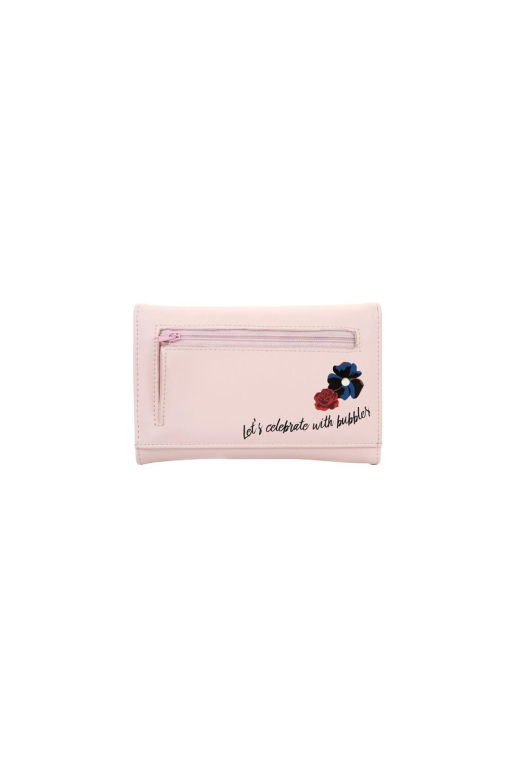 Vendula London Prosecco Tri-Fold Wallet - Front Full Image