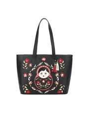 Vendula London Russian Doll Tote - Front cropped