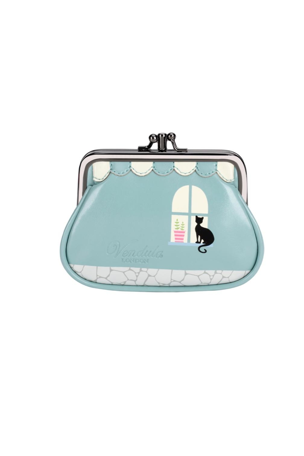 Vendula London Sewing-Shop Clip Coin-Purse - Front Full Image