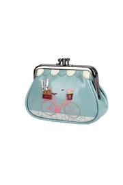 Vendula London Sewing-Shop Clip Coin-Purse - Front cropped