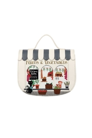 Vendula London The Greengrocers Saddle-Bag - Front cropped