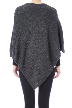 Venezia Cashmere Cashmere Cable-Knit Poncho - Alternate List Image