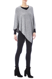 Venezia Cashmere Cashmere Cable-Knit Poncho - Other