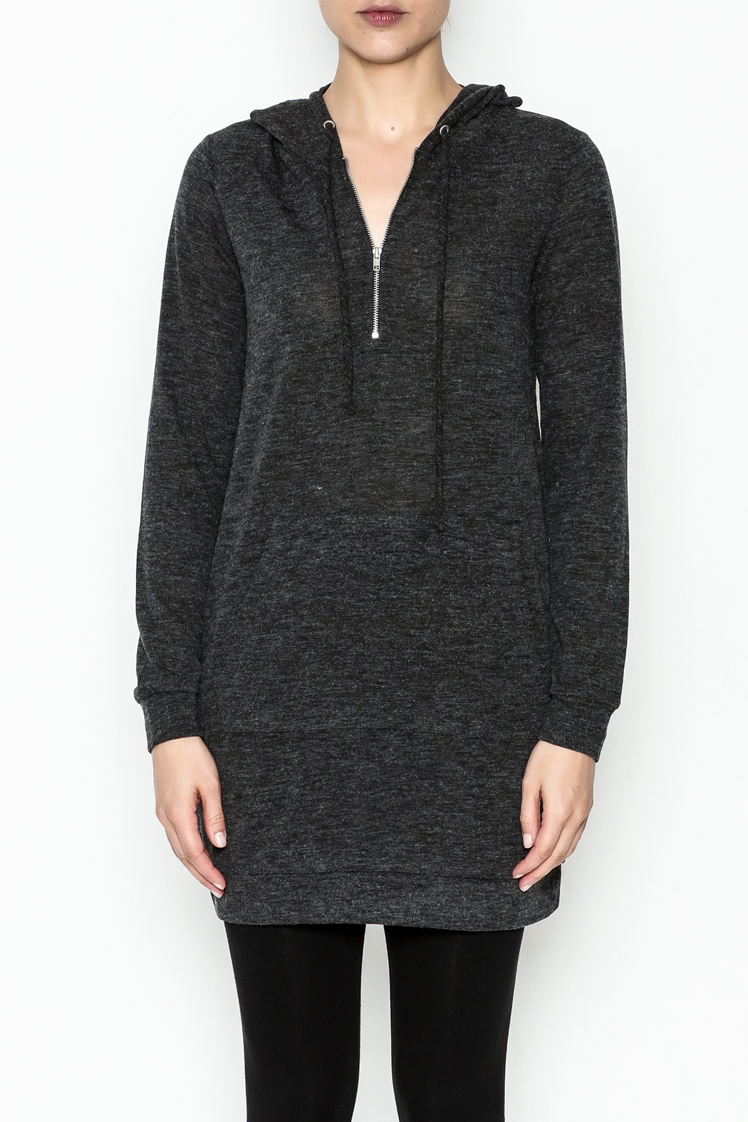 Venezia Cashmere Cashmere Hoodie - Front Full Image