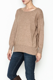 Venezia Cashmere Crew Neck Sweater - Product Mini Image