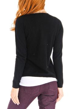 Venezia Cashmere Black Cashmere Cardigan - Alternate List Image