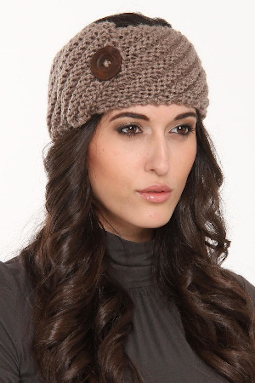 a28613a7354 Venezia Cashmere Button Headband from San Diego — Shoptiques