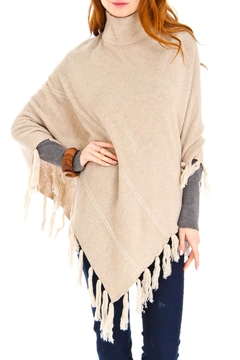 Shoptiques Product: Cashmere Turtleneck Poncho