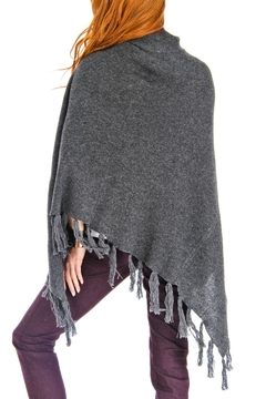 Venezia Cashmere Cashmere Turtleneck Poncho - Alternate List Image