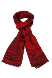 Venezia Cashmere Handmade Wool Scarf - Front cropped