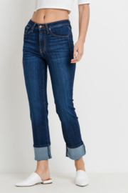 L.T.J Venice Straight High Rise w/Cuff - Front cropped