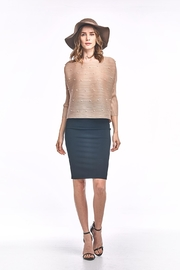 Nabisplace Venla Pleated Blouse - Front cropped