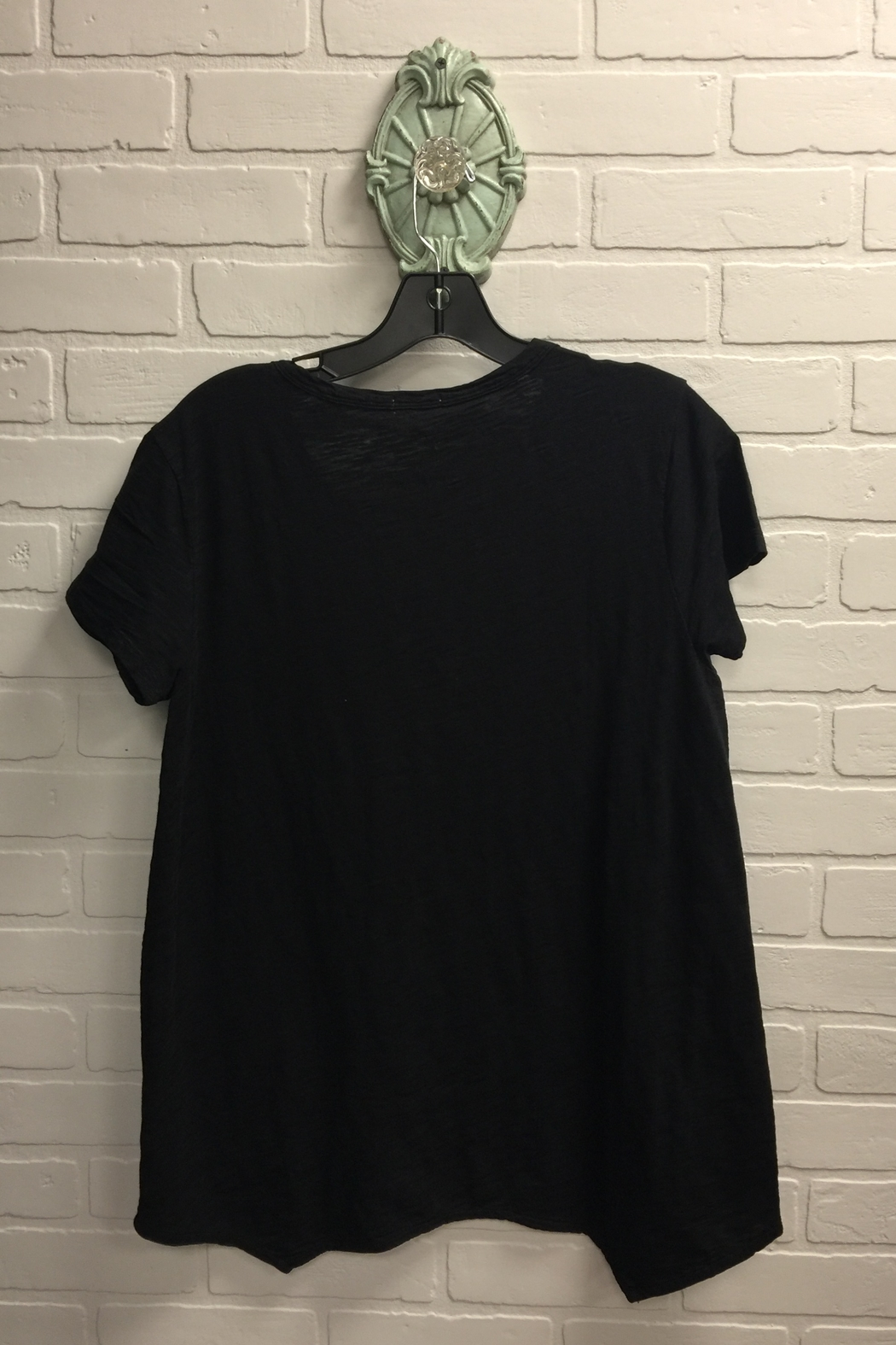 Dylan by True Grit Vented Hem Tee - Front Full Image