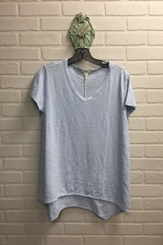 Dylan by True Grit Vented Hem Tee - Product Mini Image