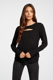 Chaser Vented Soft Rib Sweater - Product Mini Image
