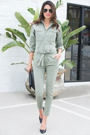 Venti 6 Button Up Jumpsuit - Product Mini Image