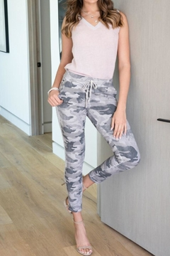 Venti 6 Camouflage Jogger Pants - Product List Image