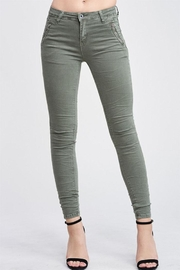 Venti 6 Crinkle Denim Pants - Product Mini Image