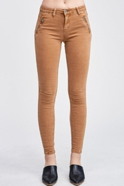 Venti 6 Crinkle Denim Pants - Front cropped