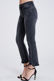 Venti 6 Crinkle Flare Pants - Front full body