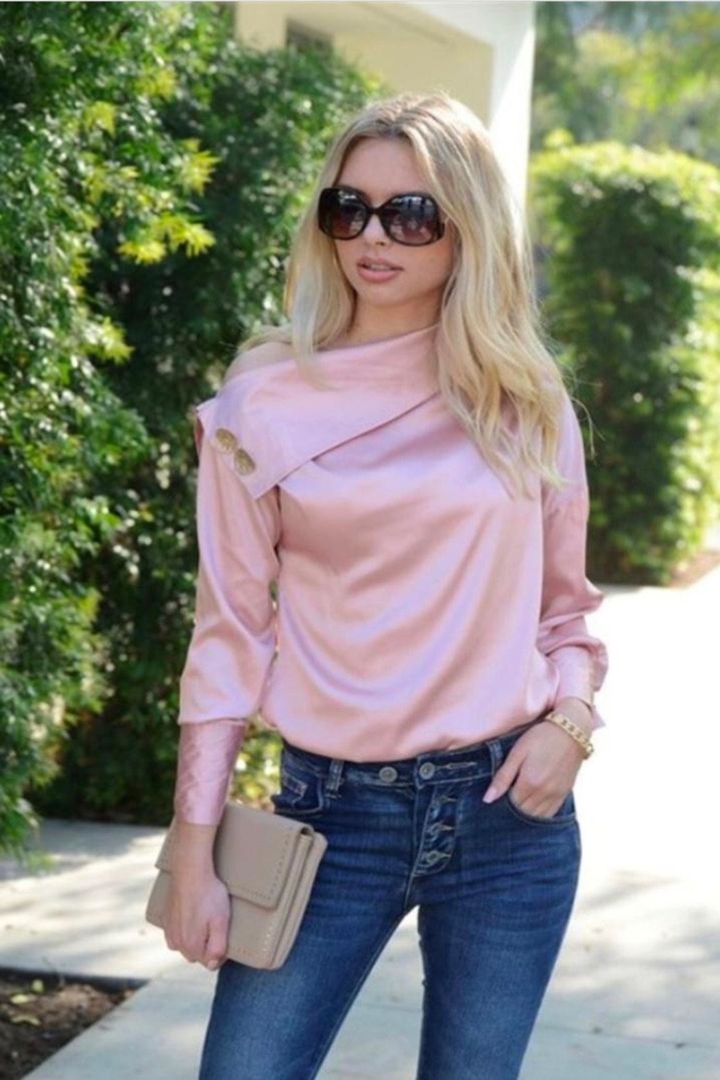 Venti 6 Off Shoulder Top - Front Full Image