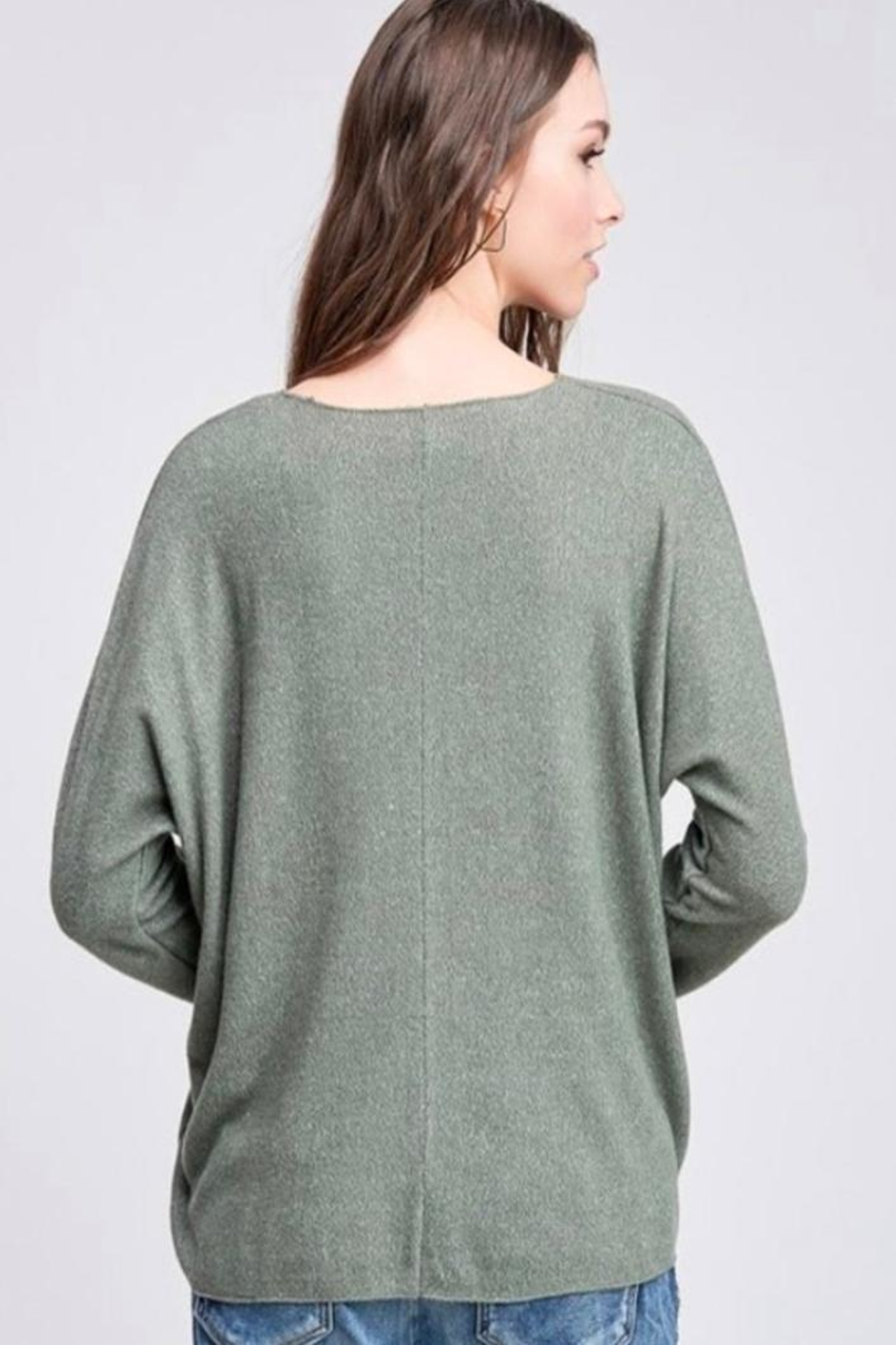 Venti 6 Soft Knit Sweater - Side Cropped Image