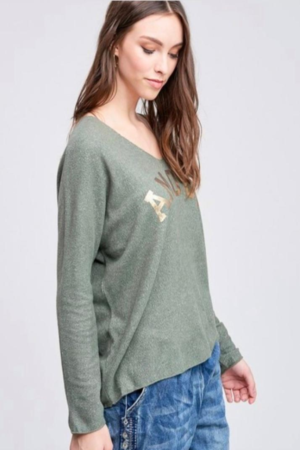 Venti 6 Soft Knit Sweater - Front Full Image