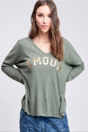 Venti 6 Soft Knit Sweater - Front cropped
