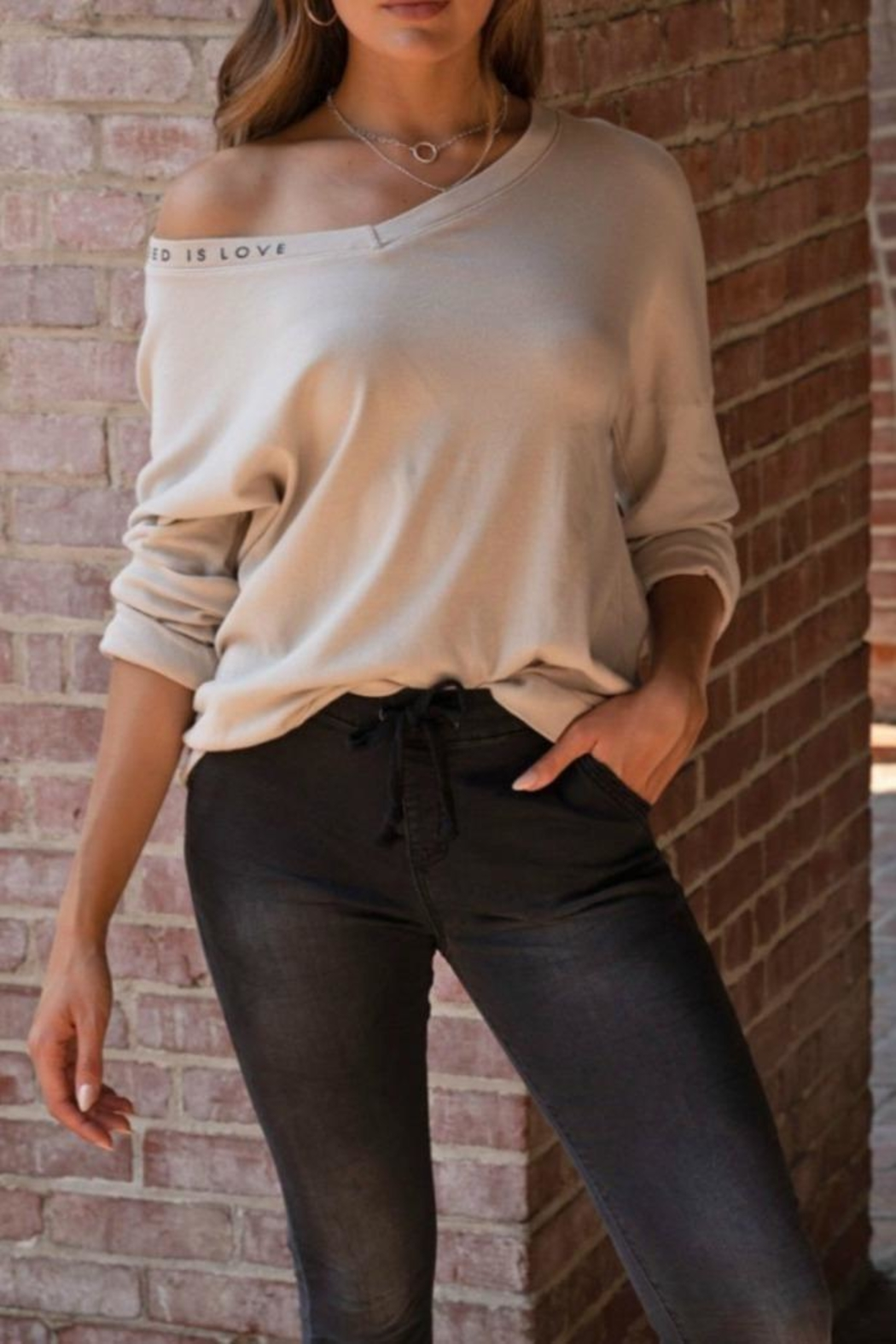 Venti 6 Soft Love Top - Side Cropped Image