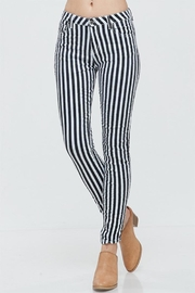Venti 6 Striped Crinkle Pants - Product Mini Image