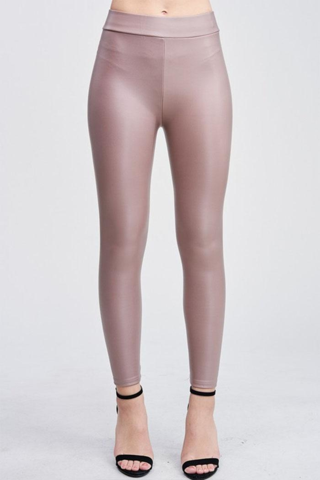 Venti 6 Vegan Leather Legging - Main Image