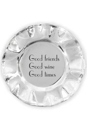Beatriz Ball Vento Wine Coaster - Good Friends, Good Wine, Good Times - Product Mini Image