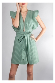 storia Venus-Ruffle Striped Dress - Product Mini Image
