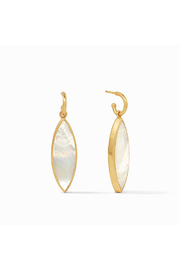 Julie Vos Venus Statement Earring-Gold/Mother of Pearl - Product Mini Image