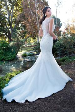 Shoptiques Product: Beaded Mermaid Gown