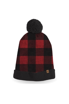 Veond Buffalo Plaid Hat - Alternate List Image