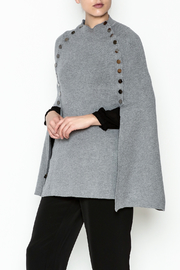 Veond Prussian Sweater Cape - Product Mini Image
