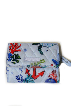 Shoptiques Product: Vera Bradley Anchors Aweigh Euro Wallet