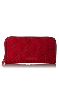 Vera Bradley Cardinal Red Georgia Wallet - Product List Image
